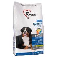 Корм сухой 1ST CHOICE SENIOR MEDIUM & LARGE для собак старше 6 лет средних и крупных пород с курицей 7кг