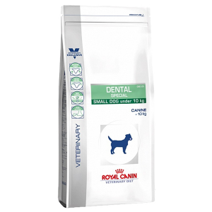 Корм сухой ROYAL CANIN DENTAL SPECIAL SMALL диета для собак до 10 кг для гигиены полости рта 2кг
